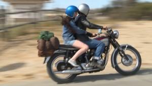 z_Liza & Brett on Motorcycle